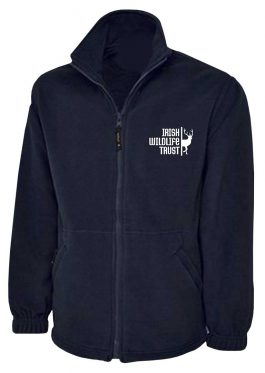 Navy Irish Wildlife Trust Fleece