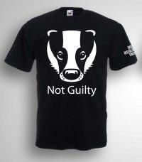 Badgers Not Guilty T-shirt
