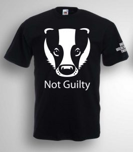 Badgers Not Guilty T-shirt