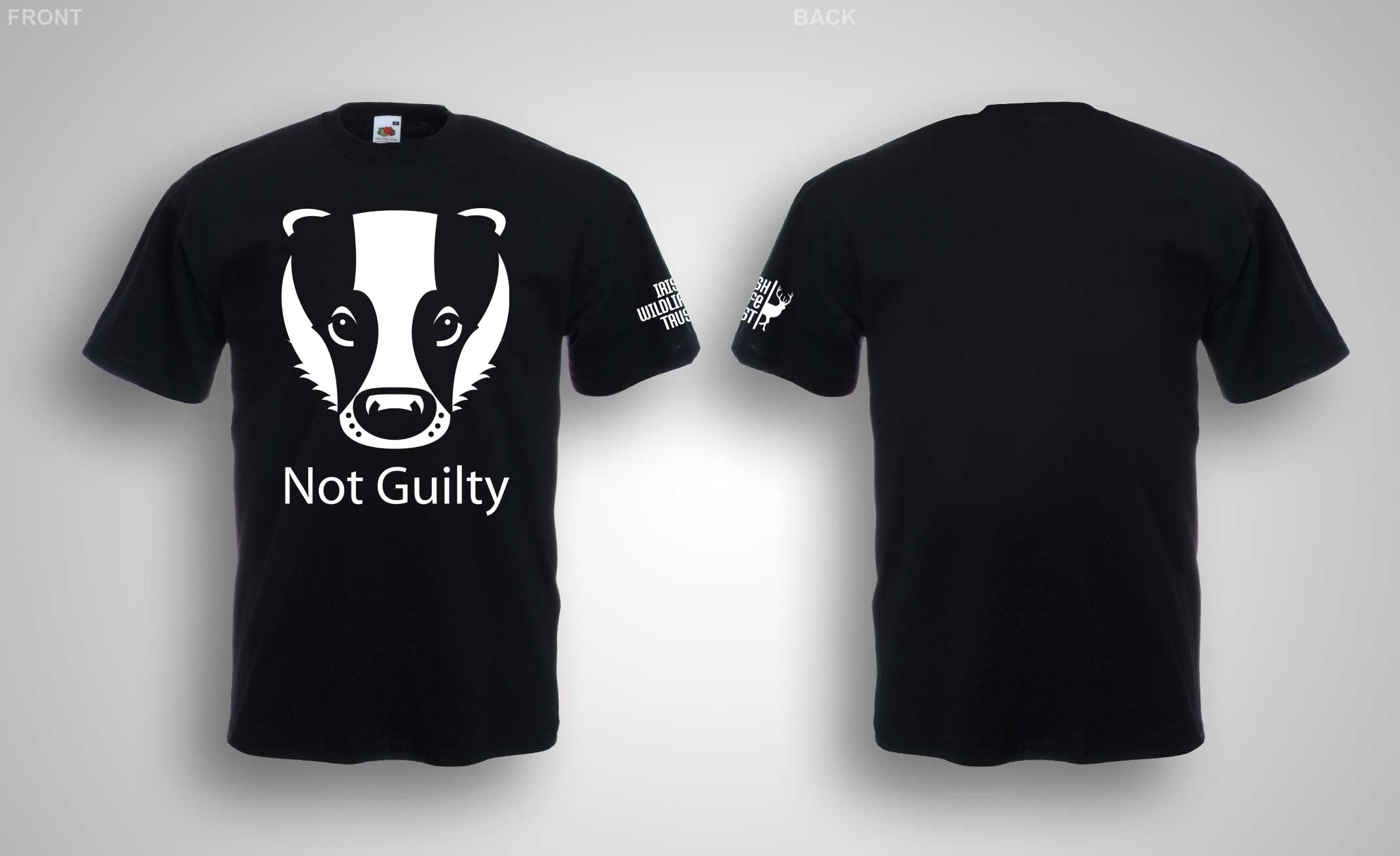 Front and Back Not Guilty T-Shirt